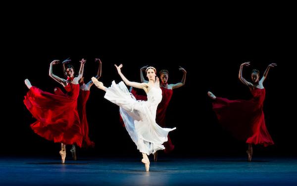 AMORE featuring Svetlana Zakharova in Francesca da Rimini Photo: © Roberto Ricci