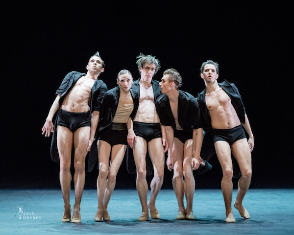 AMORE featuring Svetlana Zakharova (second from left) in Strokes of the Tail Photo: © Jack Devant