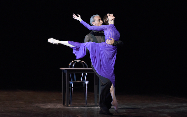 Patrick de Bana and Svetlana Zakharova in 'Rain Before It Falls' Amore photo Roberto Ricci