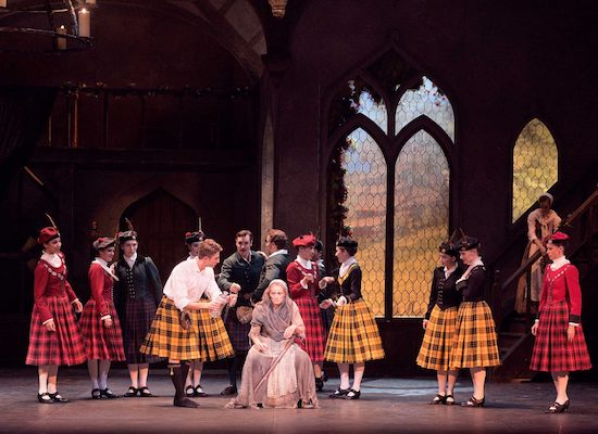 English National Ballet in La Sylphide