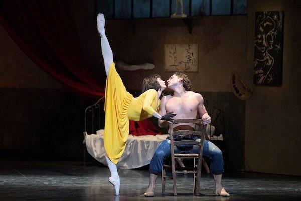 Ivan Vasiliev and Tamara Rojo in Le Jeune homme et la mort