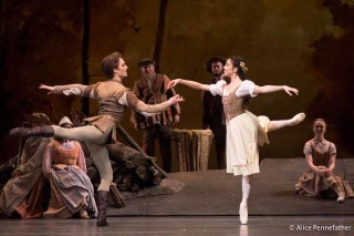 Yasmine Naghdi and Matthew Ball of The Royal Ballet in Giselle