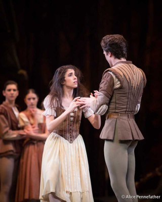 Matthew Ball and Yasmine Naghdi in Giselle.