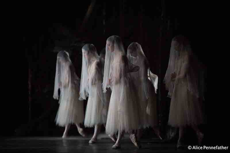 Artists of The Royal Ballet in Giselle.
