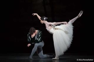 Alexander Campbell as Albrecht and Francesca Hayward as Giselle