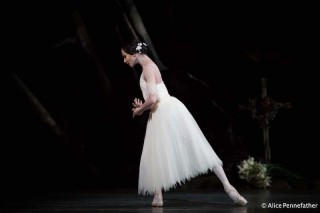 Francesca Hayward as Giselle.