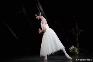 Francesca Hayward as Giselle.