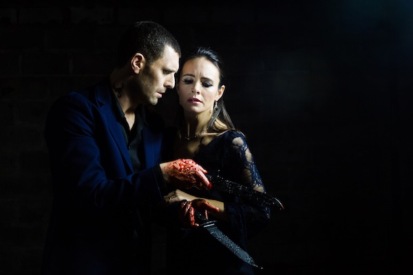 Eleanor Duval as Lady Macbeth and Jonathan Goddard as Macbeth
