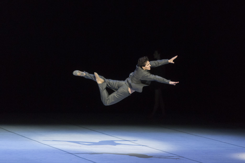 Guillaume Côté in Nijinsky. Photo: © Aleksandar Antonijevic.