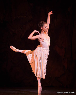 Francesca Hayward as Manon.