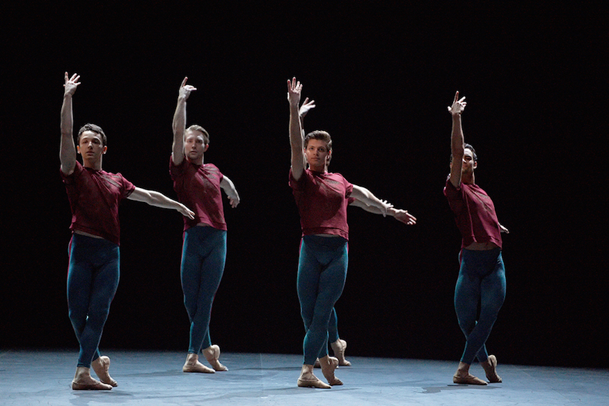 Artists of English National Ballet in Playlist (Track 1, 2) by William Forsythe