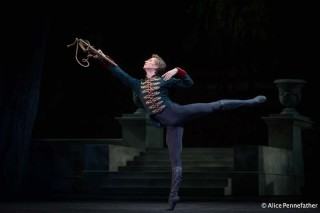 Vadim Muntagirov as Prince Siegfried in the Royal Ballet's Swan Lake