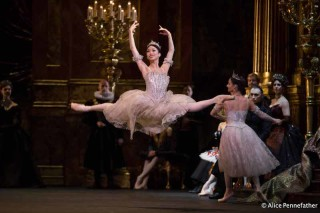 Akane Takada in the Royal Ballet's Swan Lake.
