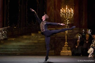 Vadim Muntagirov as Prince Siegfried in Liam Scarlett's Swan Lake