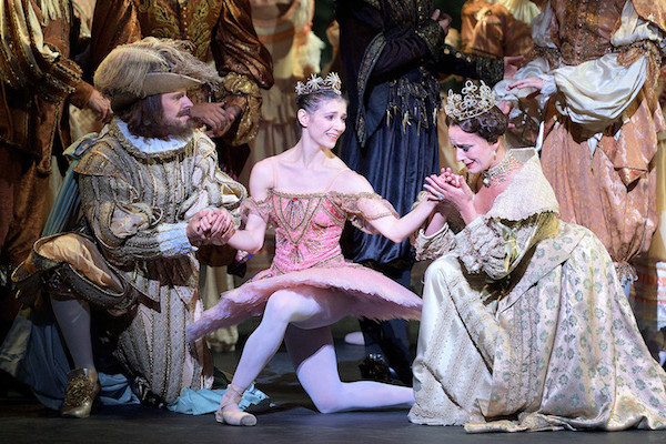 Alina Cojocaru and Artists of English National Ballet in Kenneth MacMillan's Sleeping Beauty.