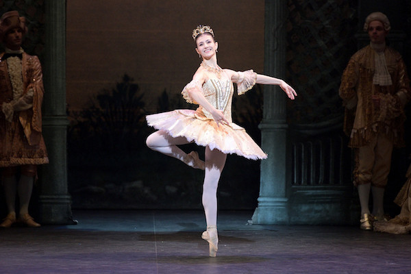 Alina Cojocaru as Princess Aurora in Kenneth MacMillan's Sleeping Beauty