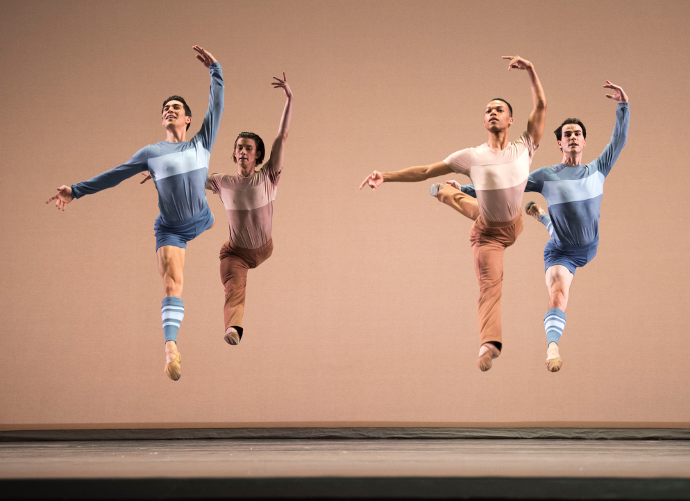 San Francisco Ballet in Peck's Rodeo: Four Dance Episodes. Photo: © Erik Tomasson