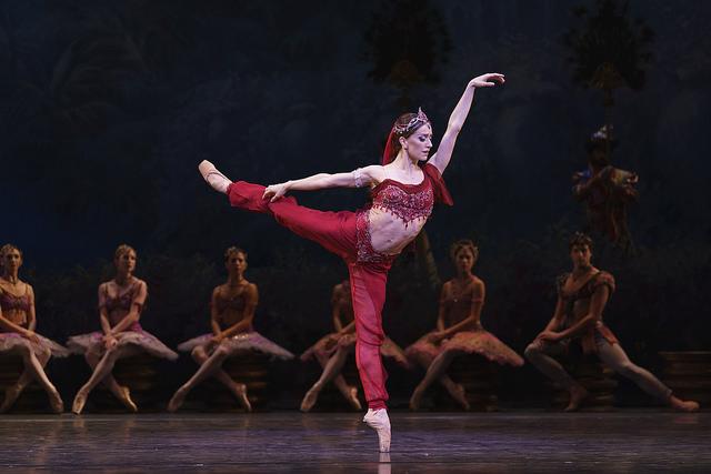 Marianela Nuñez as Nikiya in La Bayadère