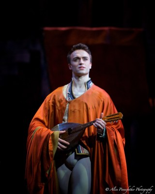 Matthew Ball as Romeo