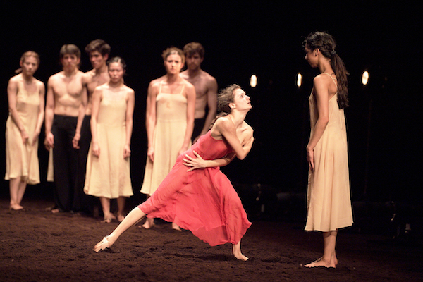 Francesca Velicu in Pina Bausch's Le Sacre du printemps.