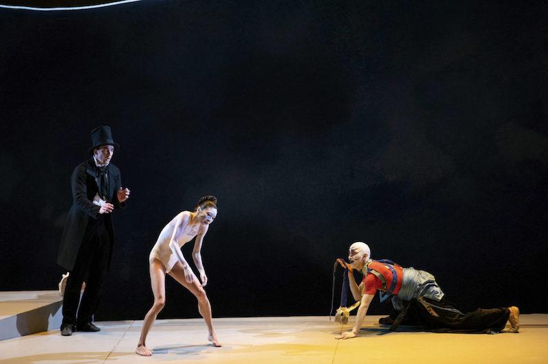 Ulrik Birkkjaer, Yuan Yuan Tan and Wei Wang in John Neumeier's The Little Mermaid.