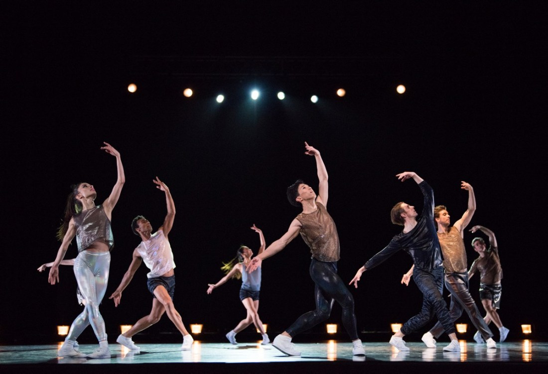 Artists of San Francisco Ballet in Justin Peck's Hurry Up, We're Dreaming.